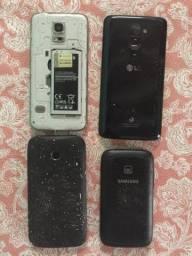 4 telefones para concertar venda/troca