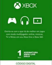Xbox Live Gold - Cartão 1 Mês Assinatura, usado comprar usado  Fortaleza
