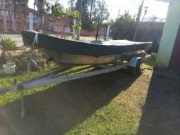 Barco alumínio motor 30hp