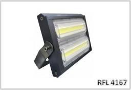 Refletor Indústrial LED 100w IP67 6000k