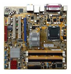Placa positivo pq35as ddr2 socket 775 + processador e memoria