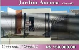 Casa com 2 quartos no Jd. Aurora em Sarandi