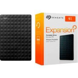 """HD Externo de 1TB Seagate Expansion STEA1000400 2.5"""" USB 3.0 - Preto"""