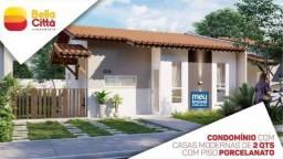 56||Bella Citta||Casas de 57 m²,na Estrada de Ribamar