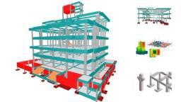 Cálculo estrutural, engenheiro civil, projeto estrutural por email