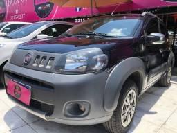 Fiat Uno Vivace-(Ano 2012)-completo-Flex. Entrada de 4 Mil + (48X de 520,45)