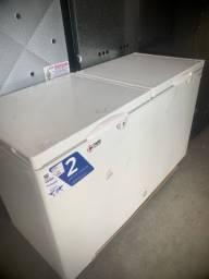 Freezer horizontal 503 L tampa cega (Alef)