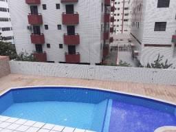 (Reinaldo) 2 Dorm. mobiliado com piscina !!! 100m da praia!!!