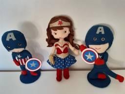 Trio Super Heróis