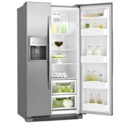 Refrigerador Electrolux Side by Side Home Pro 504L