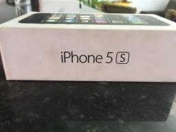 Iphone 5S com caixa travado na logo