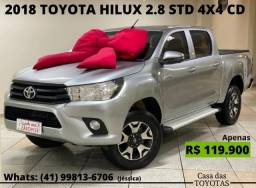 2018 Toyota Hilux 2.8 STD 4X4 CD