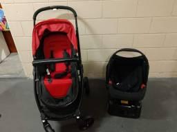 Carrinho com bebê conforto Travel Soul - Burigotto