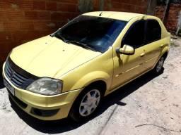 Renault Logan 1.6 completo com GNV