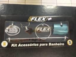 Kit banheiro Completo Goldflex em promoção
