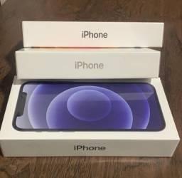 Iphone 12 64gb na caixa lacrado homologado 1 ano de garantia