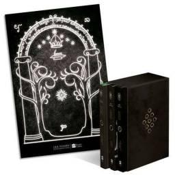 Box trilogia Senhor dos anéis + Pôster