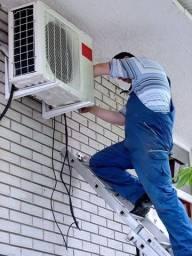 Título do anúncio: Conserto de ar condicionado (todas as marcas)