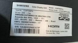 """Título do anúncio: Monitor Gamer Curvo Full HD Samsung LED 24"""" LC24F390FHL"""