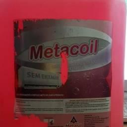 Título do anúncio: Detergente Desincrustante Metacoil Metasil galão  5 litros