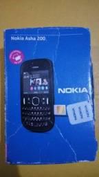 Celular Nokia Asha 200 dual chip preto