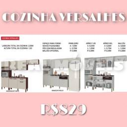Armário de cozinha Versalhes armário de cozinha Versalhes 75689