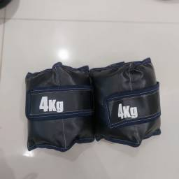 Título do anúncio: Caneleiras de 4 kg  par
