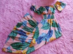 Vestido longo lindo R$35,00