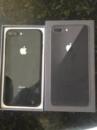 iPhone 8 Plus 64 gb na garantia 10 meses de uso