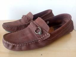 Sapato spazzolato
