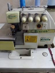 Máquina de custura interlock bracob modelo bc75