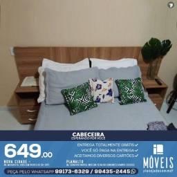 Cabeceira de cama em MDF