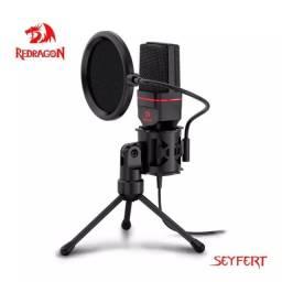 Microfone Redragon Seyfert GM100 Original + Adaptador!