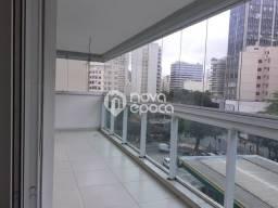 Apartamento à venda com 3 dormitórios em Botafogo, Rio de janeiro cod:CP3AP39466