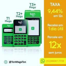 Promoção de maquininha T1 mega, T2+ mega, T3+ mega