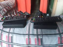 Vende-se dois conversor Digital com dois controles cada .valor 120 os dois