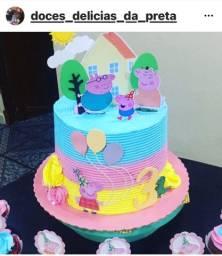 Doces delícias da Preta os bolos deliciosos e feitos com amor