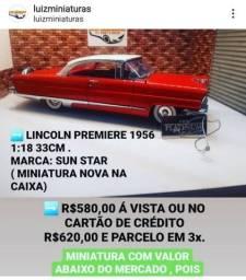 Título do anúncio: Miniatura Lincoln Premiere 1:18 Sunstar