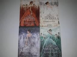 4 Livros Saga Seleção