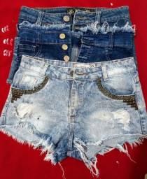 3 Shorts Jeans tamanhos 36/38