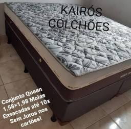 :: Colchão Sleep Pocket Queen Molas Ensacadas Individualmente