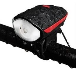 Lanterna + buzina de Bike