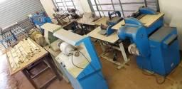 Máquinas para Fabricação de Cintos e sandálias