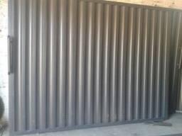 Portão novo e instalado