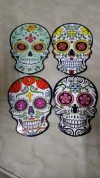 Título do anúncio: Quadros Decorativos de Caveira Mexicana