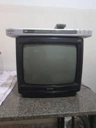 TV e DVD funcionando, só a TV precisa configurar, só 80 os dois ítens