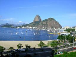 Apartamento temporada Praia de Botafogo/Enseada mobiliado tv/internet