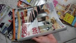 Revistas diversas para construção e decoração