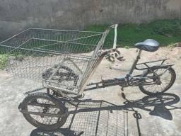Título do anúncio: Triciclo cargueiro bicicleta de carga