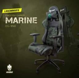 Promoção Cadeira Gamer Evolut Marine EG950 NovaLacrada